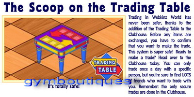 trading table