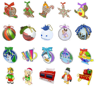 Webkinz Christmas Tree Decoration Feature | Gymbo's Webkinz Blog