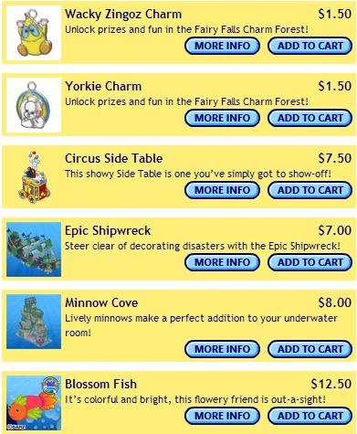 Surprise Saturday Webkinz eStore