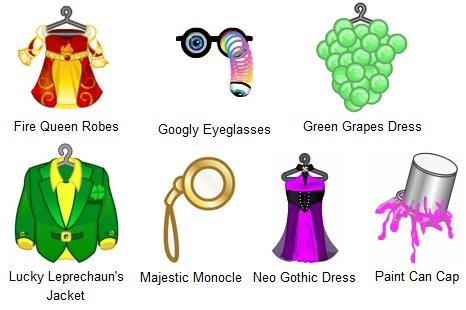 webkinz clothing machine recipes tiara