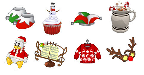 Webkinz parent club prizes for ugly sweater