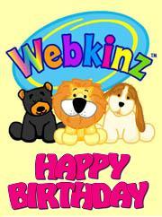 webkinz birthday