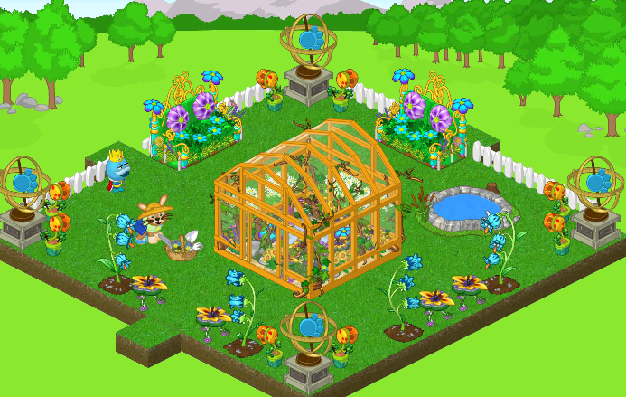 Flowery Greenhouse 2