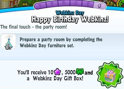 WFWebkinzDay6