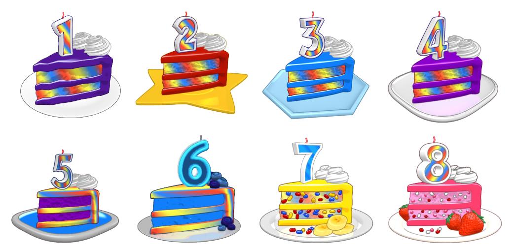 Webkinz-Day-Cakes