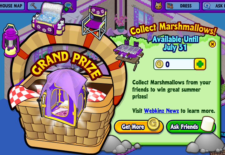 Webkinz key craze prizes for bridal shower