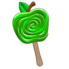 green apple slices png. candied green apple, golden delicious maple apple cider slices png