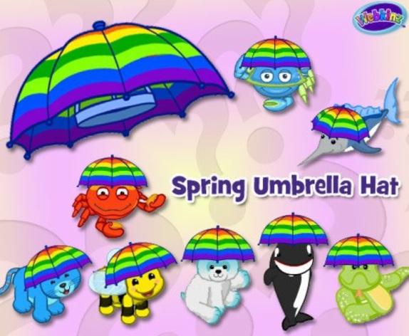 springumbrellahat