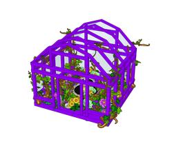 Purple-Flowery-Greenhouse