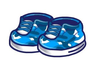 Blue-Camo-Sneakers