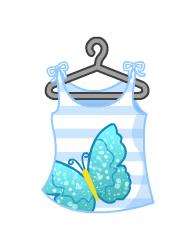 Glitter-Butterfly-Tank-Top
