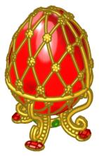 Ruby-Red-Jeweled-Egg