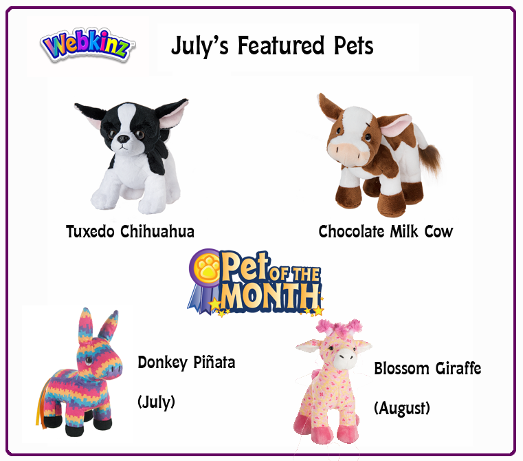 july-featured-pets