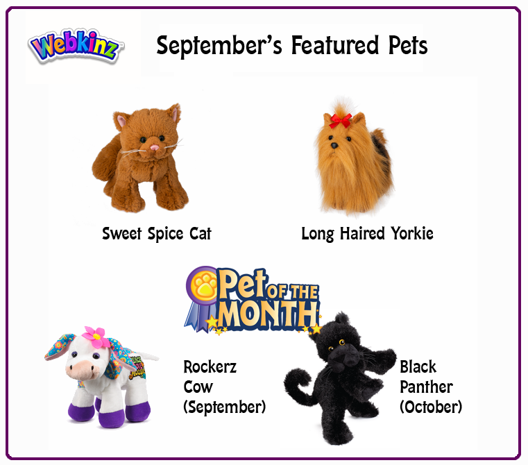 SeptemberWebkinz