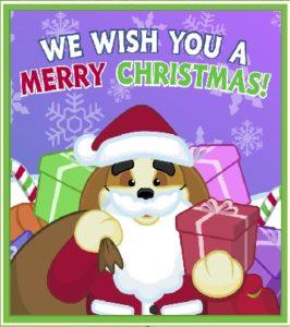webkinzchristmascard