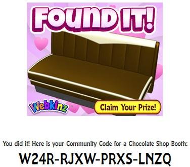 Gymbo's Webkinz Blog » Chocolate Gifts