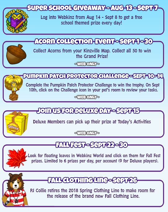 Webkinz wish token prizes for baby