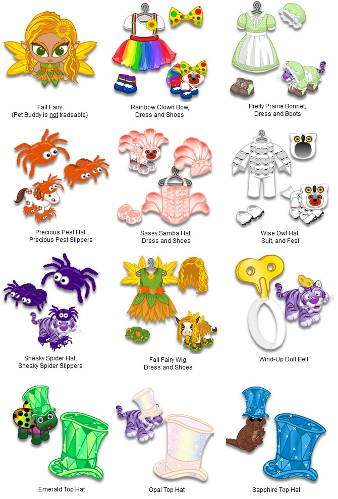 Webkinz fall fest 2018 prizes for students