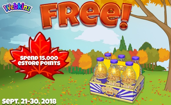 Webkinz fall fest prizes for carnival games